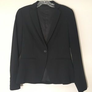 Theory Striped Suit Jacket
